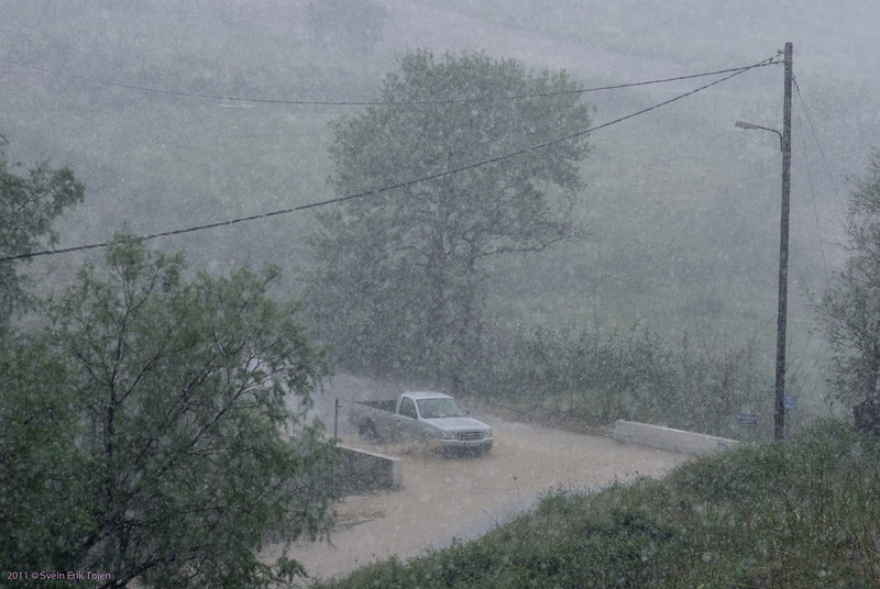 Spring rainstorm IV - Kato Stalos
