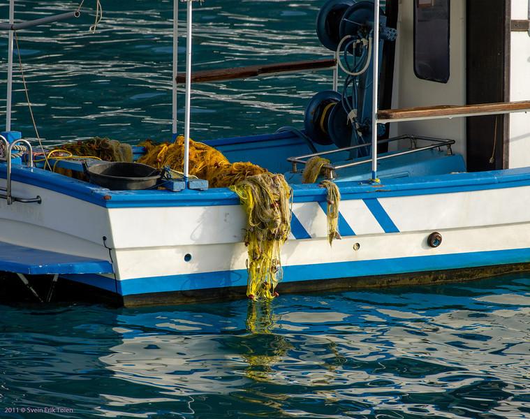 Fishing boat , Loutro