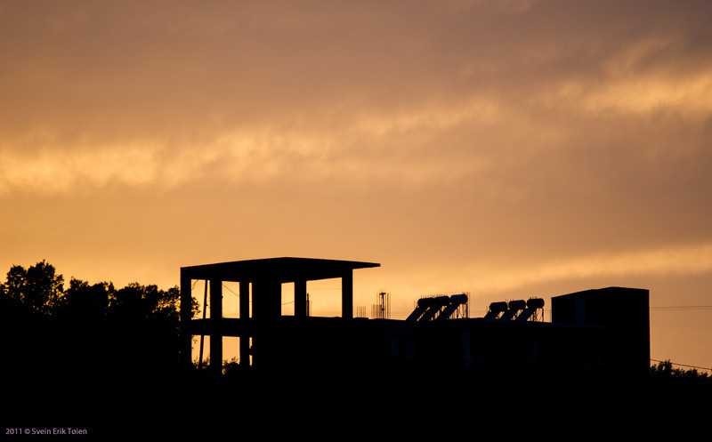 Evening sky, Kato Stalos