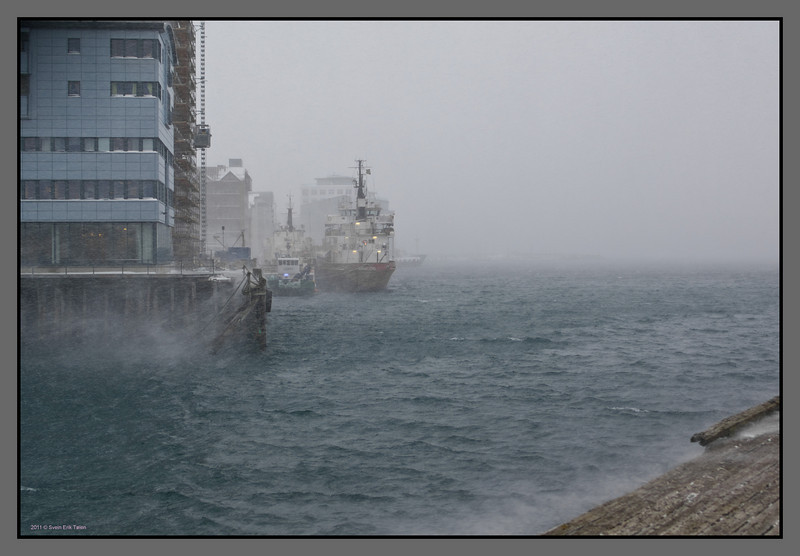 Winter harbour<br /> Bodø