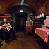 Pantry performance<br /> Restaurant musician at cellar restaurant by Albertinaplatz