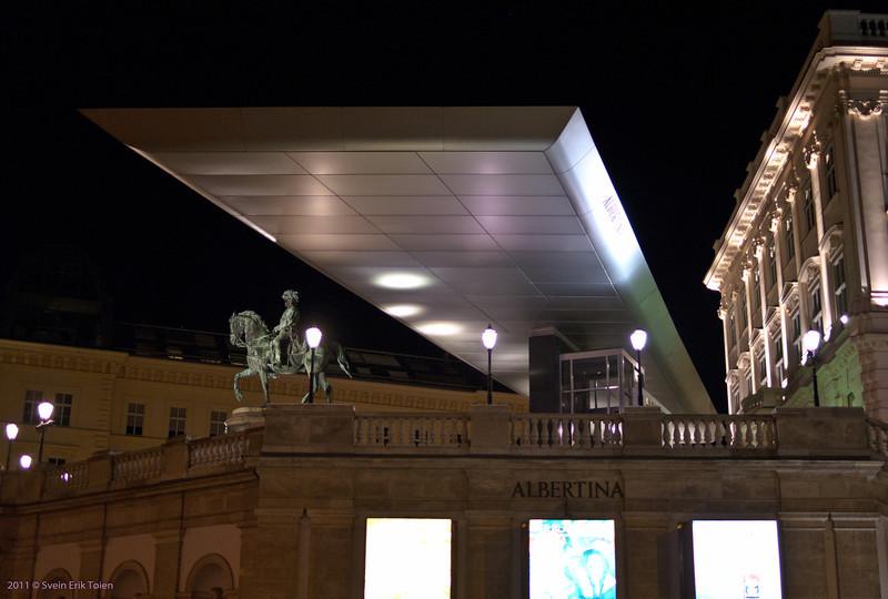 Extension<br /> Albertinaplatz, Vienna