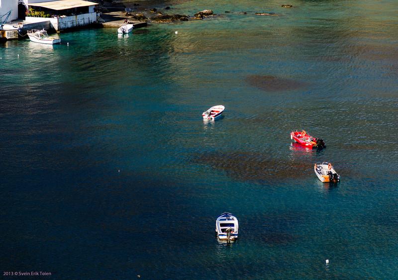 Loutro harbour
