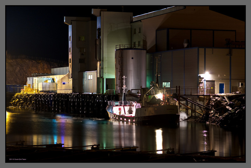 Herring packery<br /> Bodø harbour