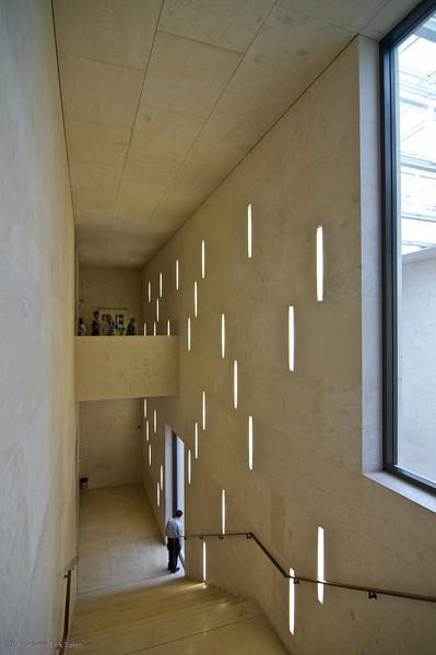 Leopold Museum - stairway
