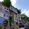 Hundertwasserhaus<br /> Architect/artist: Friedensreich Hundertwasser