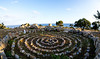 Stone spiral - by Loutro Castle