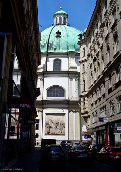 Modest exteriour<br /> St.  Paul church