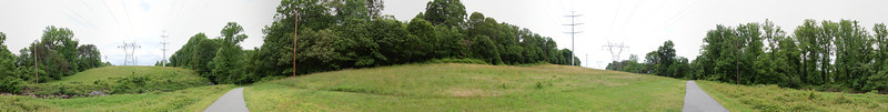 """Panorama of a path near where I live.<br /> View the full version here: <a href=""""http://photos.kevinworkman.com/Pictures/2011/i-4PZSTfn/0/O/TowerFieldPanorama.jpg"""">http://photos.kevinworkman.com/Pictures/2011/i-4PZSTfn/0/O/TowerFieldPanorama.jpg</a>"""