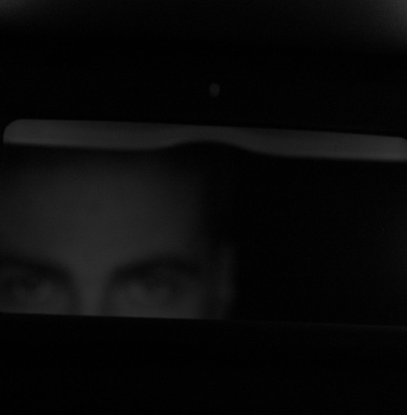 You look in the rear view mirror and see a killer in the back seat!