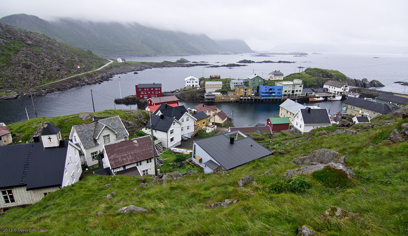 From top of the Nyksund Island