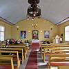Preparing for sermon in Zoar chapel
