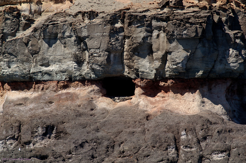 Sea caves <br /> South coast