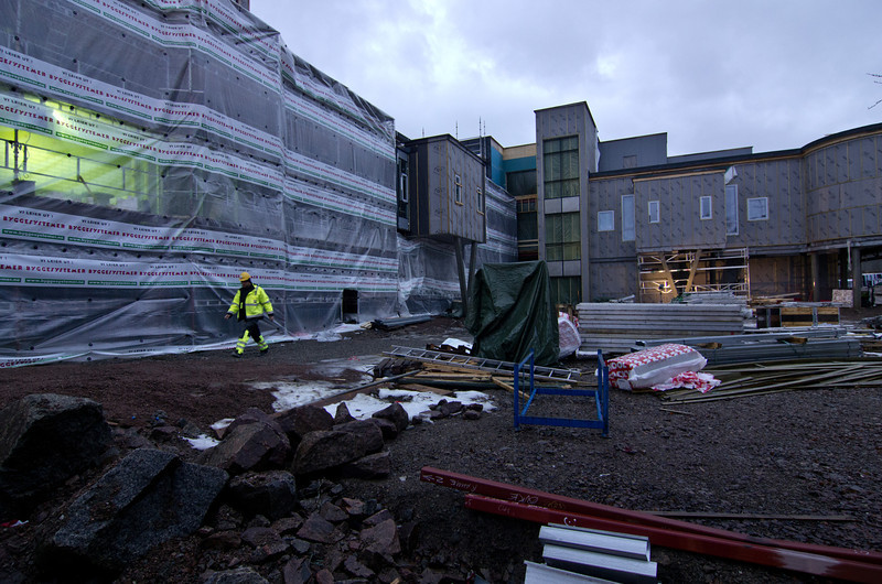 Various shapes<br /> New hospital, Stokmarknes 2010-2014