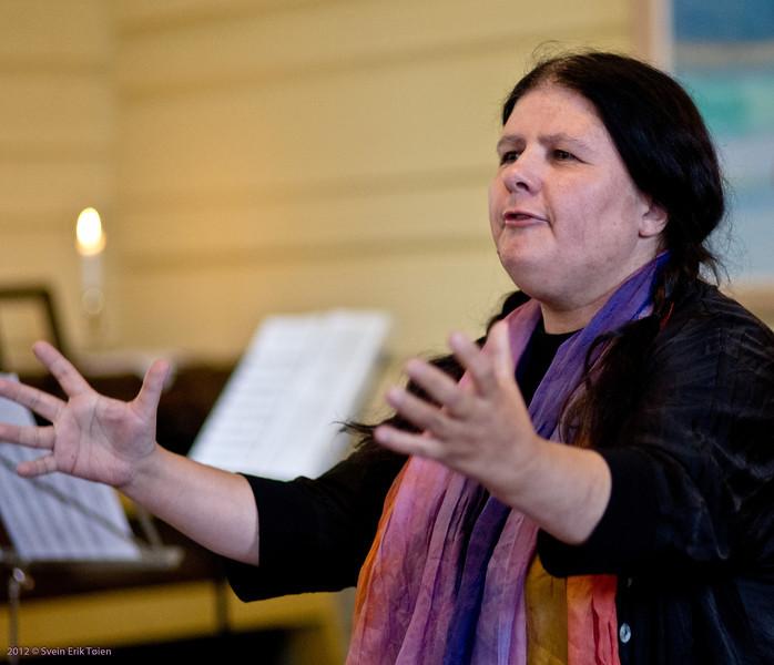 Stories from the sea at Zoar chapel - 8<br /> Stina Fagertun, Tromsø