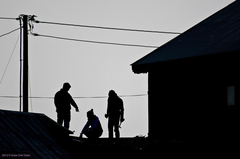 Mending a roof I