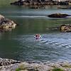 Small boat, big cliffs - seascape outside Nyksund