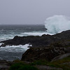 Days of rough weather - wiew from Vestervika