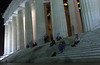 Ghosts on the Lincoln Memorial