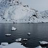 Snow and high tide II<br /> Nyksund