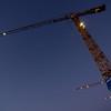Crane collection II<br /> Bodø harbour, multiple building sites