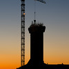 Tower after sunset I<br /> New Rica hotel, Bodø harbour 2013