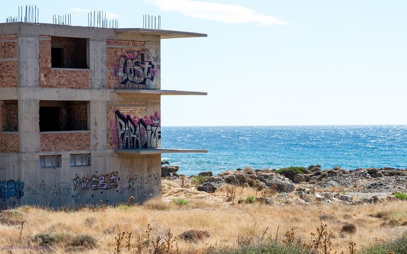 Lost paradise<br /> Unfinished housing, Paleochora