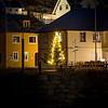 Christmas tree in Nyksund square I