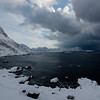 Polar lows coming in - more snow to come<br /> Shoreline by Nyksund