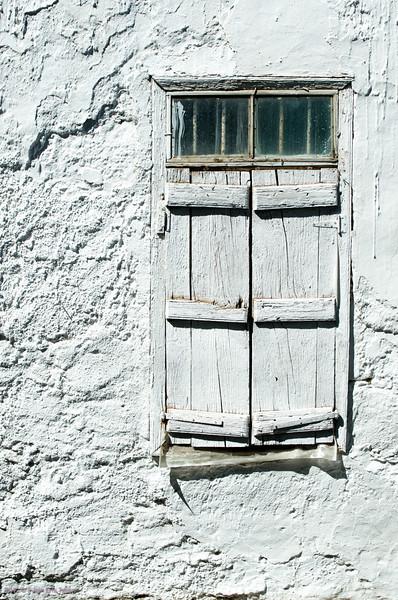 Closed<br /> House detail, Paleochora