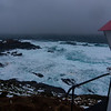 Storm squall hitting II<br /> From the lighthouse, Nyksund Island