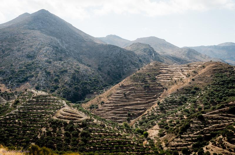 Terraced hills, by Polirinia