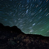 Startrails over Nyken mountain, Nyksund. Sigma 8-16mm @ 8mm, 40x30sec exposure