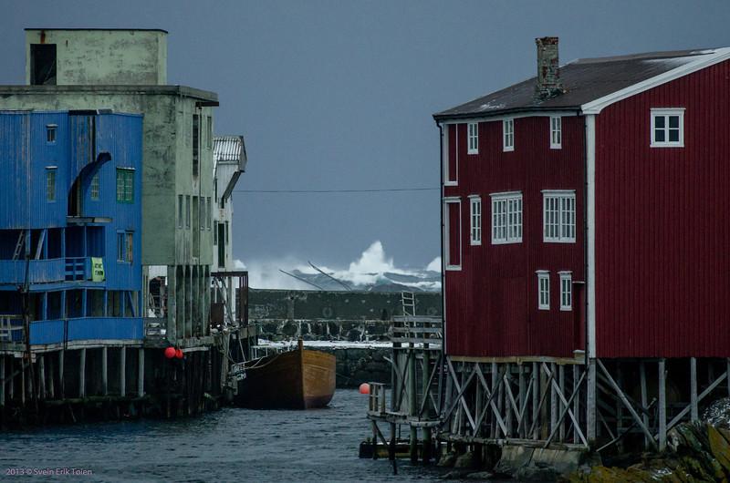 Stormy day in Nyksund I