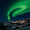 Northern lights over Vestervika