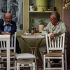 Afternoon conversation<br /> Kafenion in Kissamos