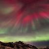 Northern light corona over Nyksund I