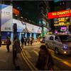 Streets Hong Kong @ night