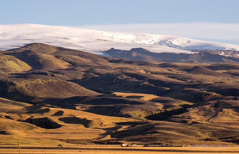 Existence under the glacier hills
