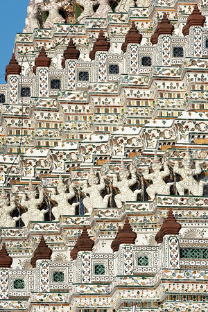 Phra Prang, Wat Arun Ratchawararam (The Temple of Dawn)