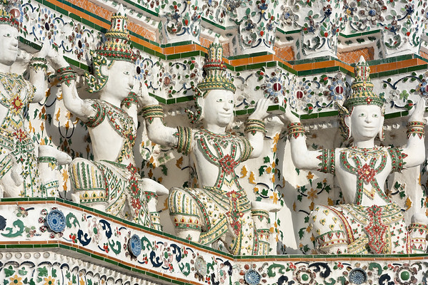 Phra Prang, Wat Arun Ratchawararam (The Temple of Dawn)