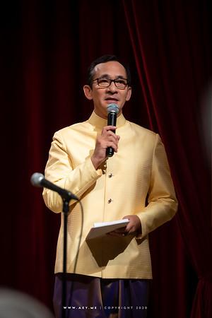 Tipnaree at The Siam Society Under Royal Patronage