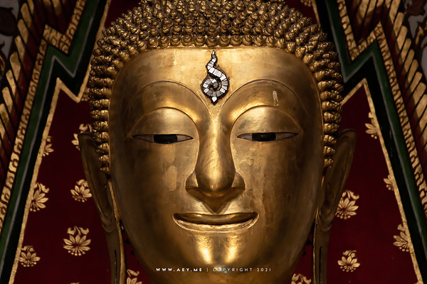 Phra Buddha Thampunutamahaburut Lakkana Asittayanubut, Phra Vihara, Wat Arun Ratchawararam (The Temple of Dawn)