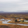 Landscape by Thingvellir