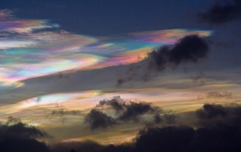 Emerald clouds II