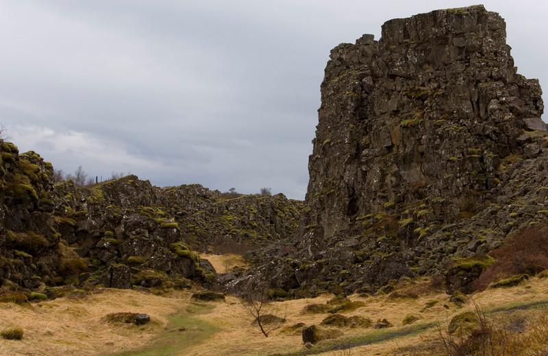 Thingvellir rocks