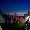 Into the night - ferry across Vesfjorden