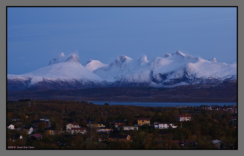 Back home - wiew from my terrace. +4 C degrees at sea level...