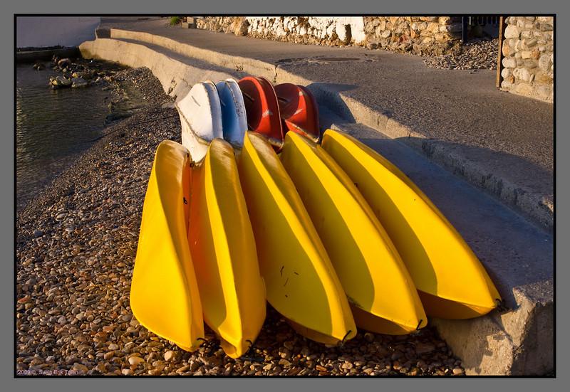 Boat stacks
