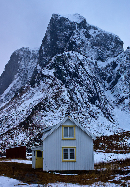 The house under the mountain